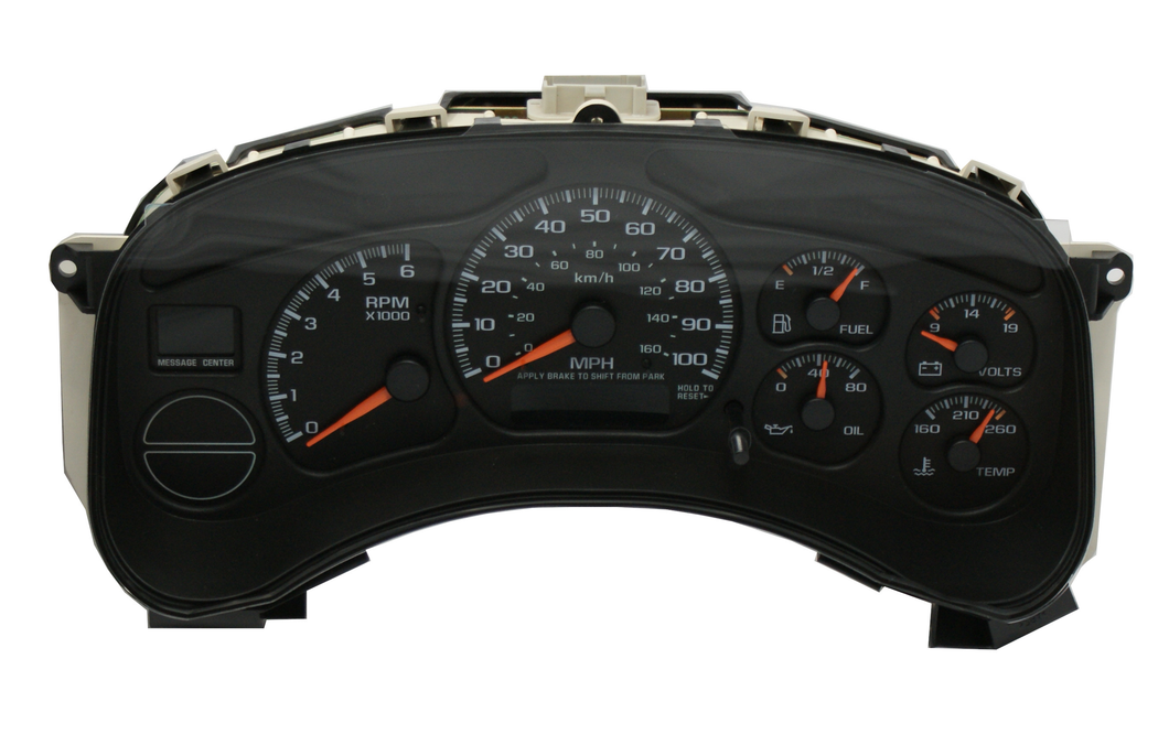 2002 Chevy Tahoe Instrument Cluster Replacement