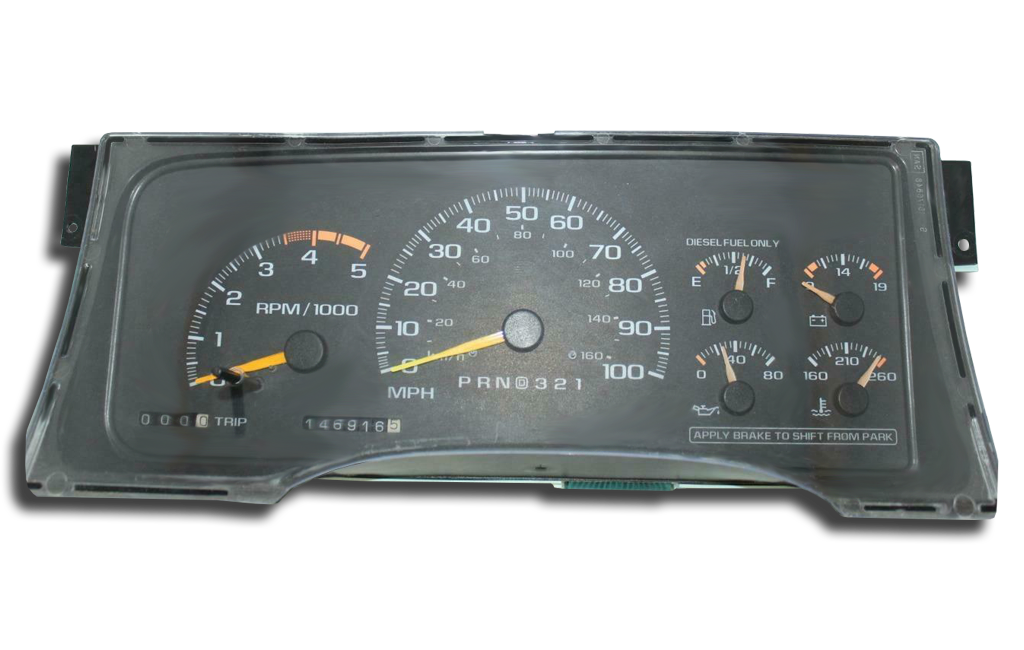 1997 - 1999 Chevrolet Tahoe - Instrument Cluster Replacement