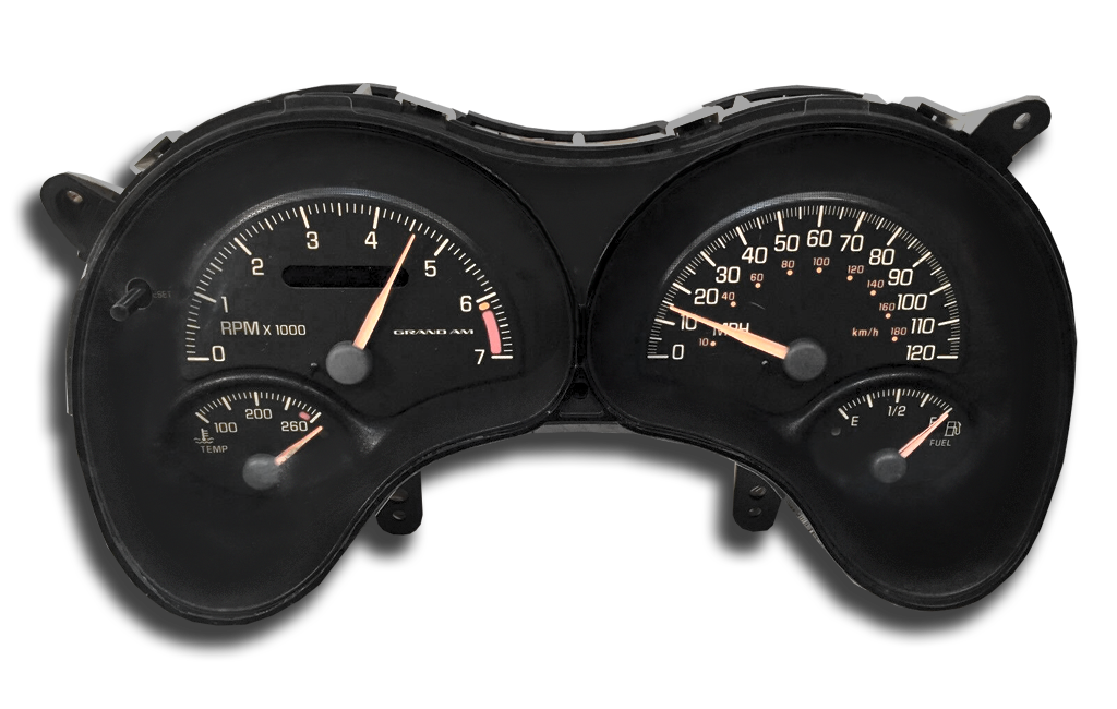 1999 Pontiac Grand AM & GT - Instrument Cluster Replacement