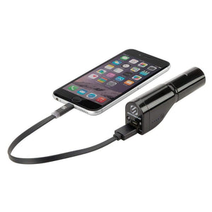 3-in-1 Power bank with Emergency Flashlight GoBat™ 2600