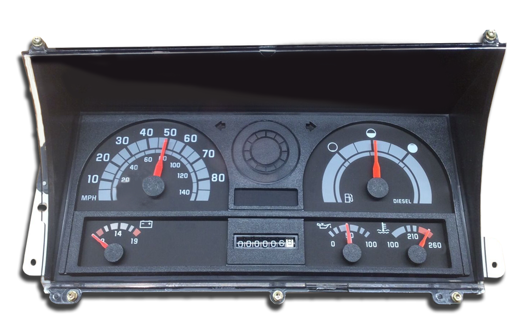 1995 - 2002 GMC TopKick - Instrument Cluster Replacement