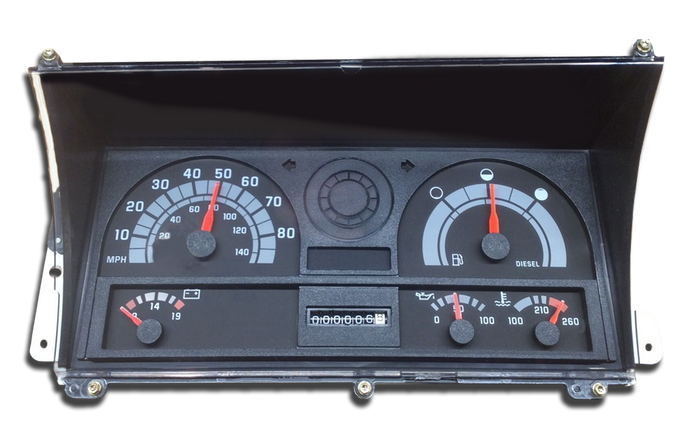 1995 - 2002 Chevy Kodiak - Instrument Cluster Repair