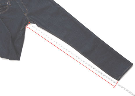 Bottoms: How we measure the inseam