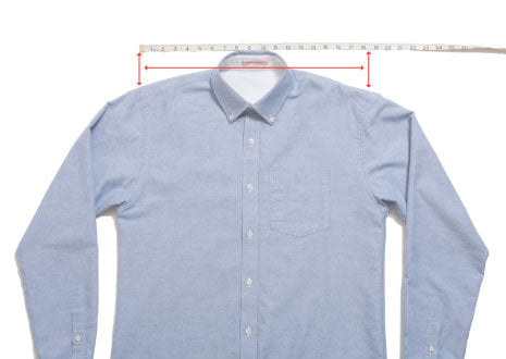 Tops: How we measure the shoulder
