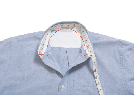Tops: How we measure neck