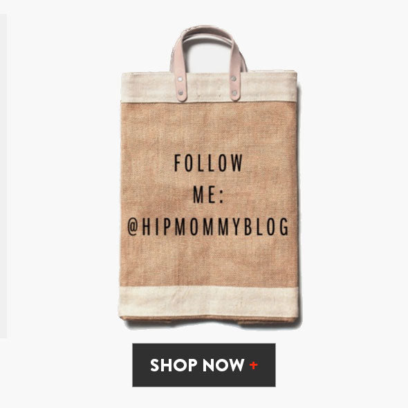 Follow me: @Hipmommyblog Work Market Bag