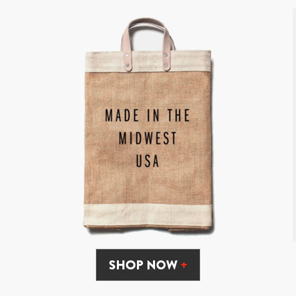 Made in the Midwest USA Gift Market Bag
