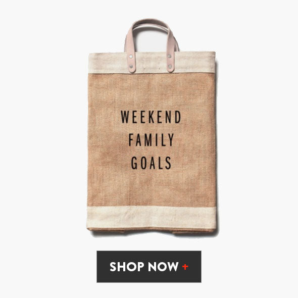 Weekend Family Goals Gift Market Bag