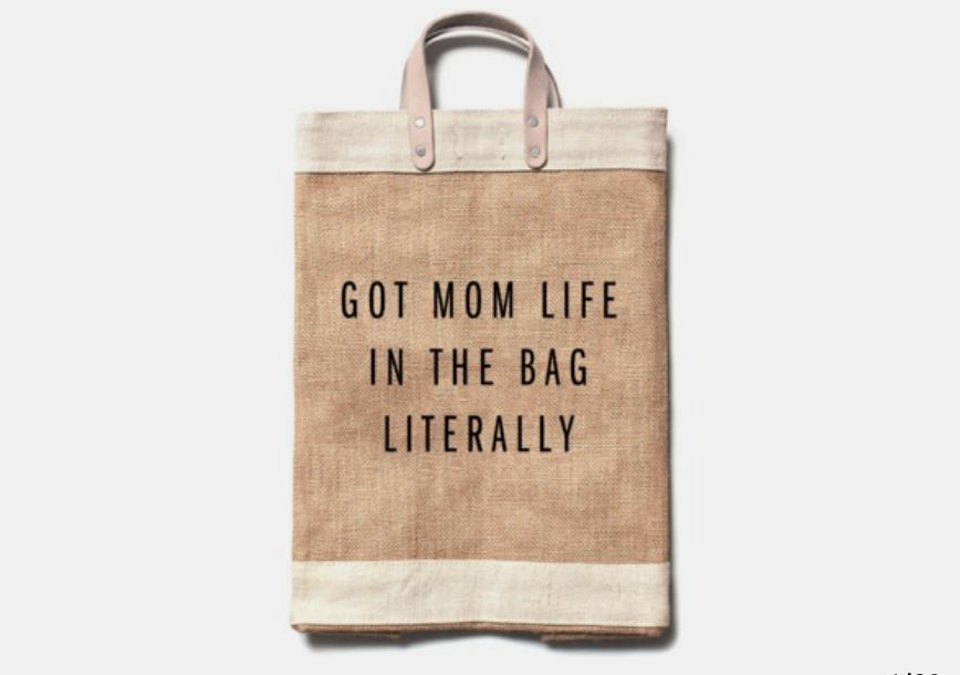 'Got Mom Life in the Bag, Literally' Everything Bag
