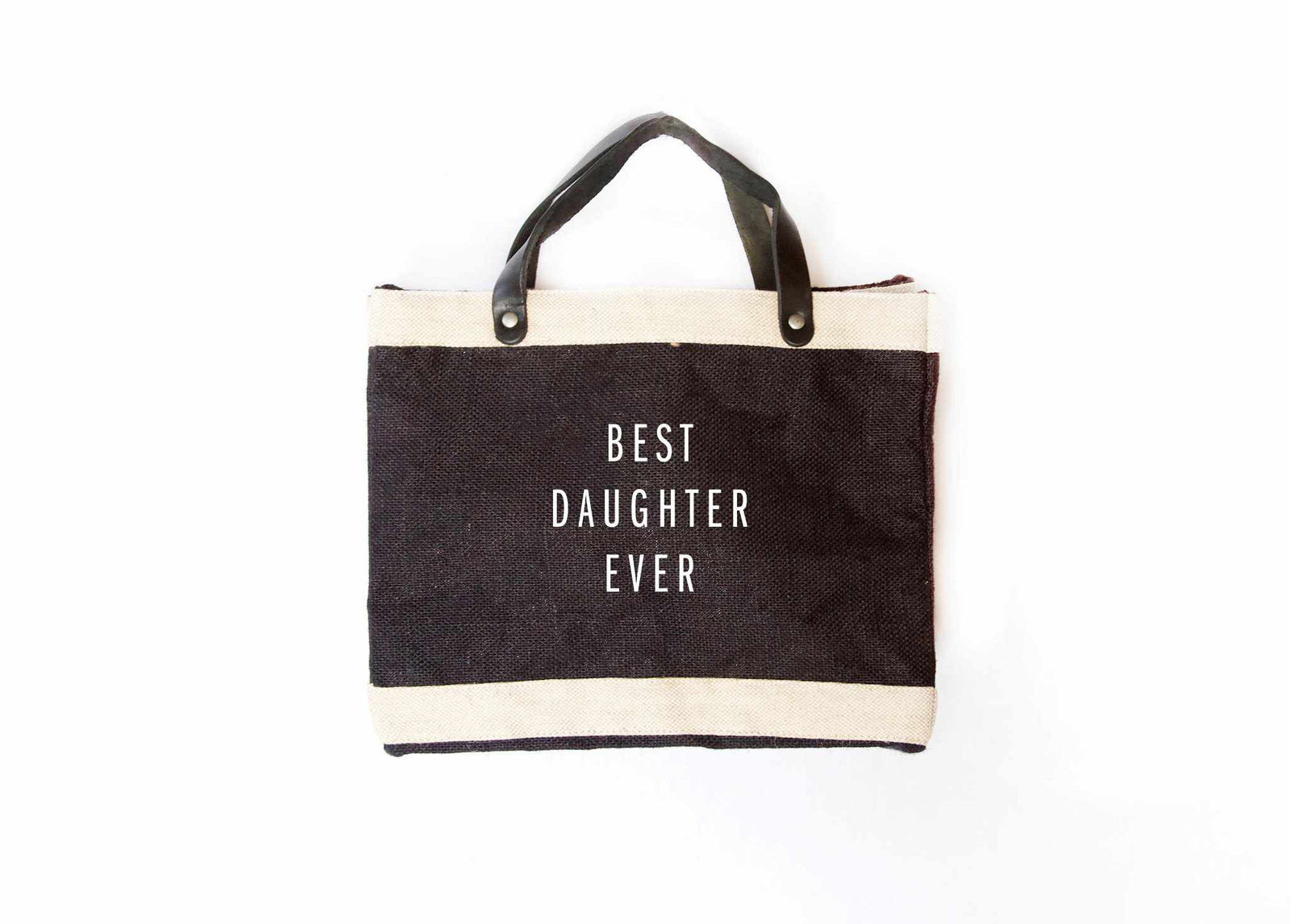 'Best Daughter Ever' Petite Market Bag for Baby2Baby®
