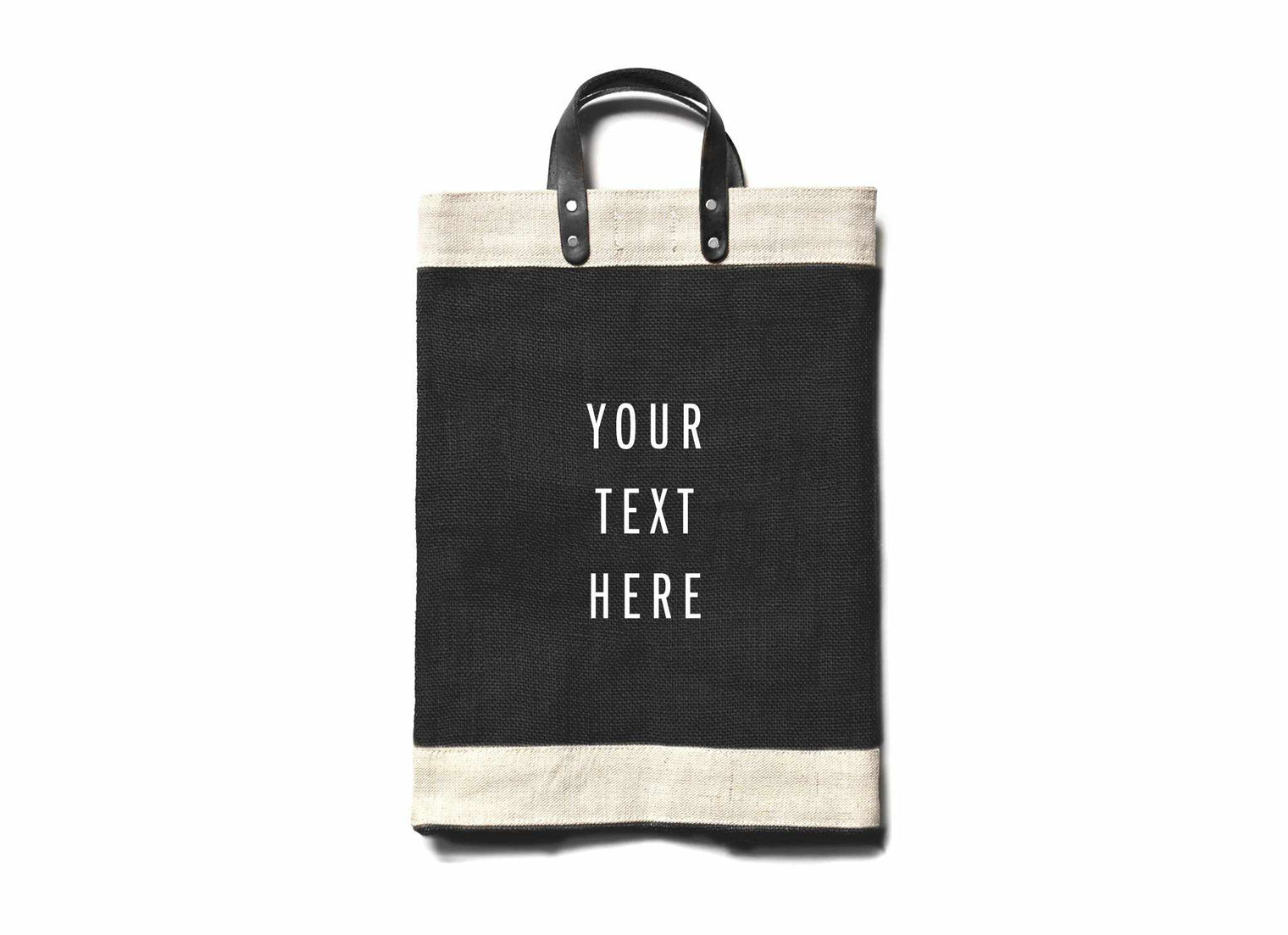 Customize Your Market Bag in Black