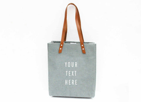 Customize Your Standard Tote in Light Blue