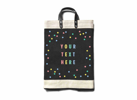 Customize Your Oh Joy! + Apolis Market Bag for Baby2Baby®