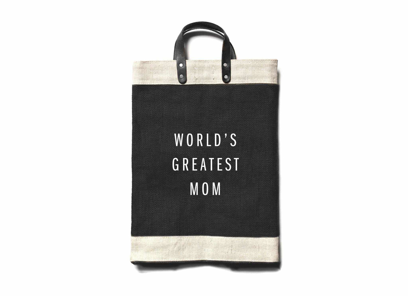 'World's Greatest Mom' Market Bag