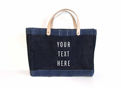 Customize Your Dark Indigo Lunch Bag