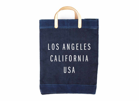 Los Angeles Indigo Market Bag
