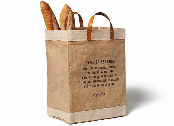Stockholm City Series Market Bag