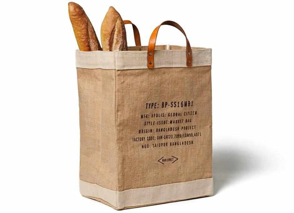 Paris City Series Market Bag