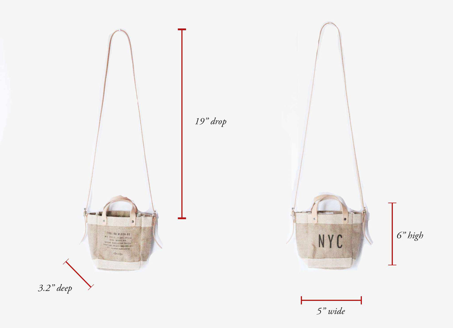 Customize Your Detachable Handle Mini Bag