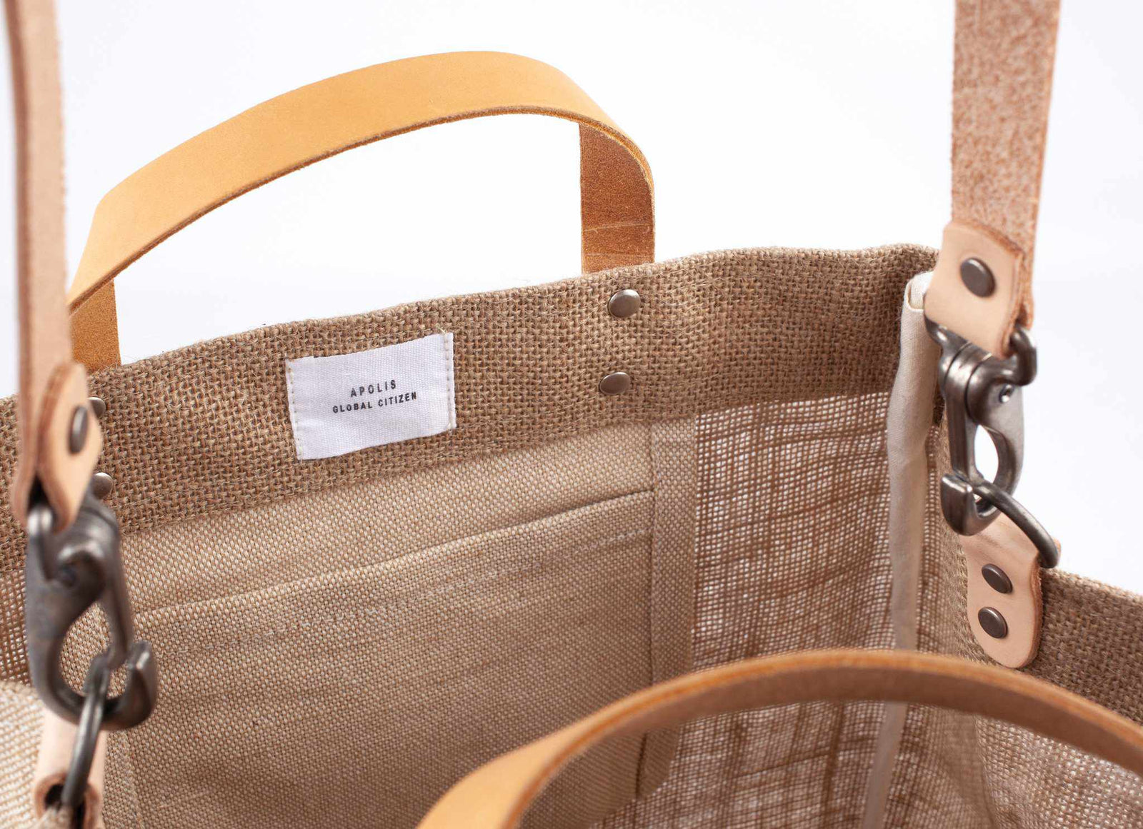 Customize Your Detachable Handle Market Bag