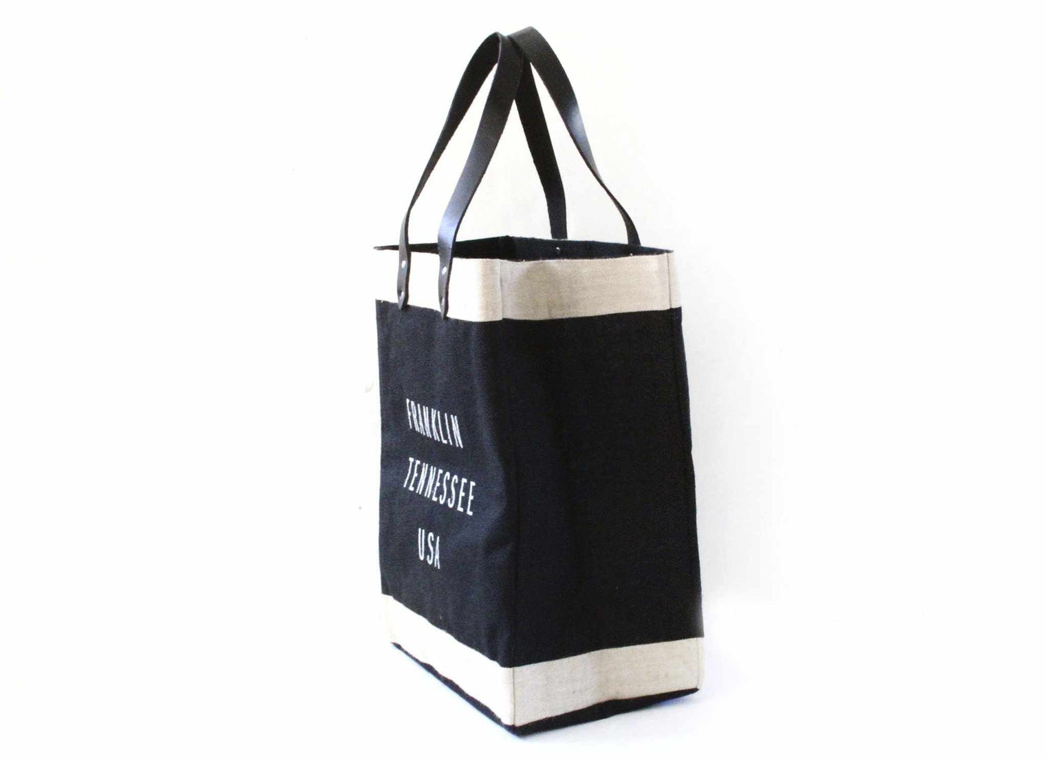 Customize Your Tote Market Bag in Black