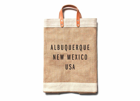 Albuquerque City Series Market Bag
