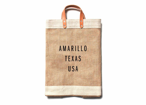 Amarillo City Series Market Bag