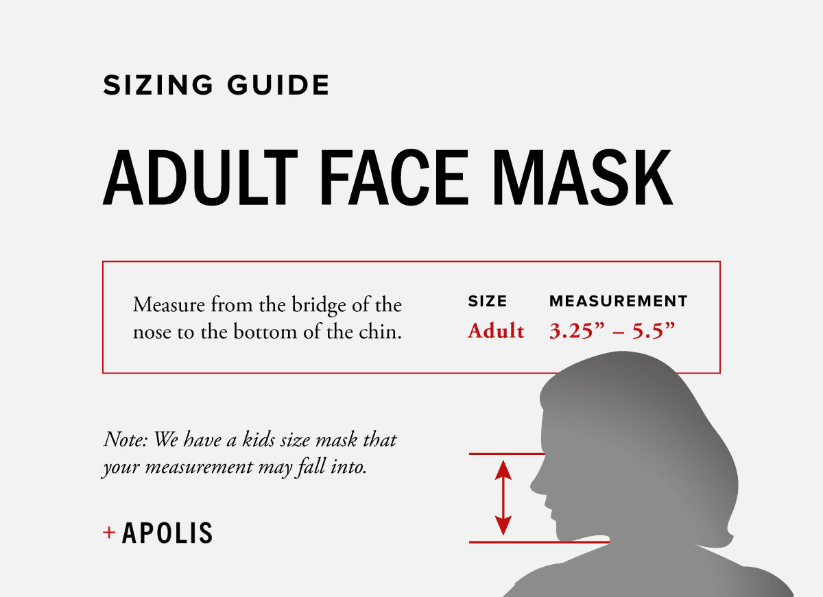 Apolis Blank Adult Non-Medical Face Mask for Baby2Baby®