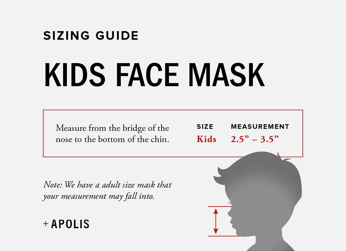 Apolis Blank Non-Medical Toddler Face Mask for Baby2Baby®