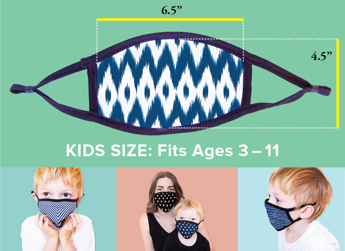 Customize Your 3-Pack of Non-Medical Kids Face Masks for Baby2Baby®