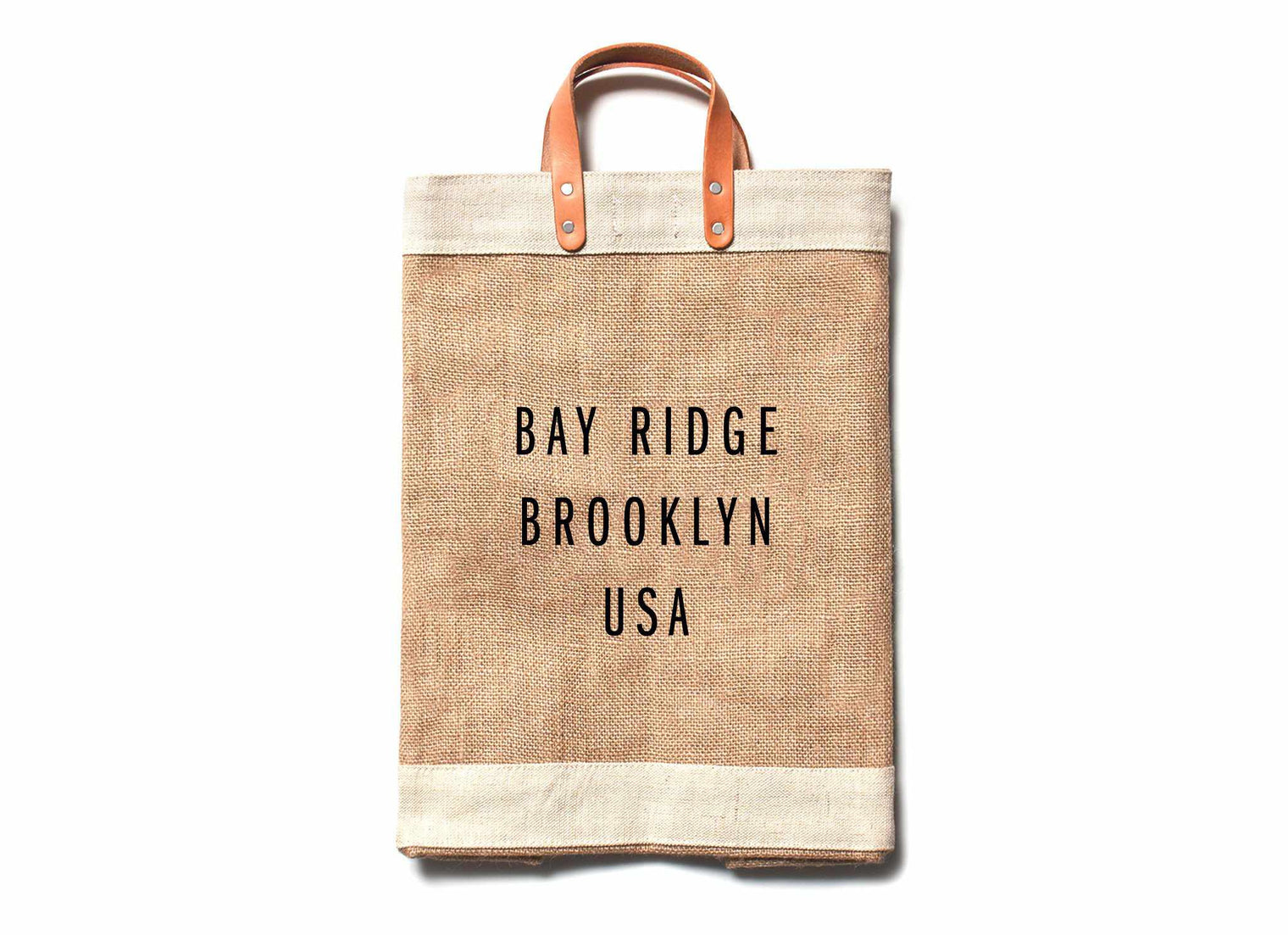 Bay Ridge City Series Market Bag