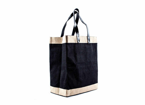 Tote Market Bag, Black