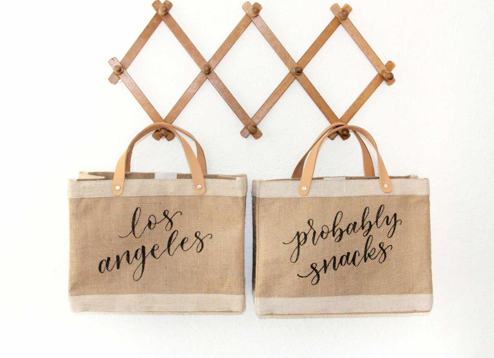 Apolis + Crooked Calligraphy Customizable Petite Bag