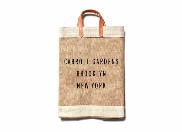 Carroll Gardens City Series Market Bag