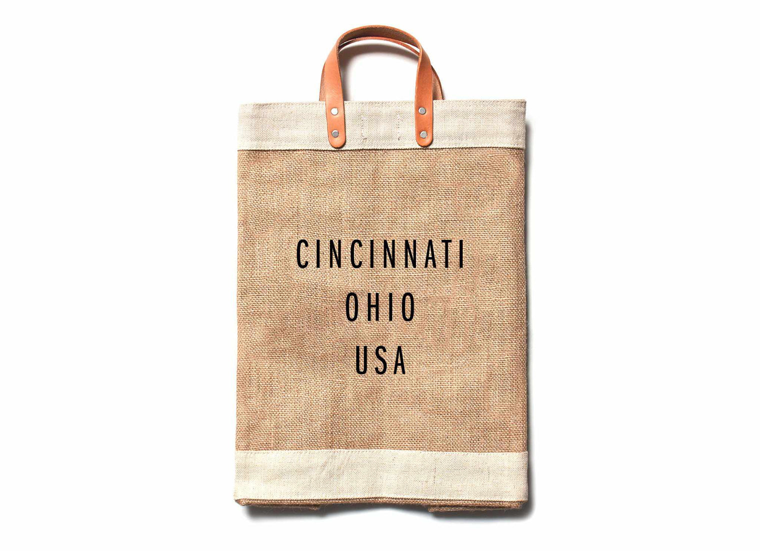 Cincinnati City Series Market Bag