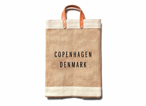Copenhagen City Series Market Bag
