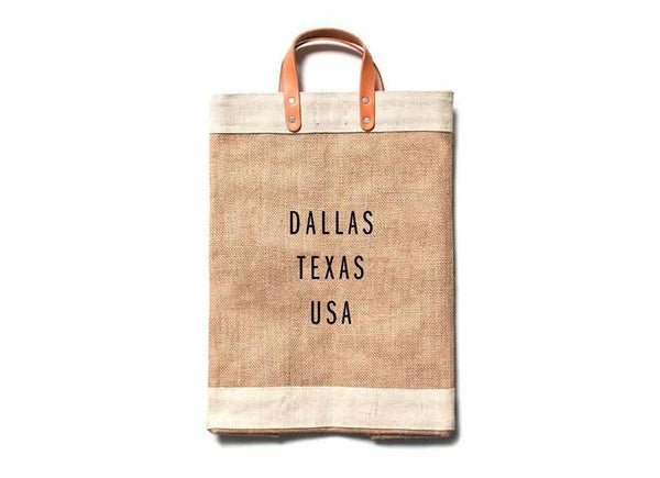 Dallas City Series Market Bag