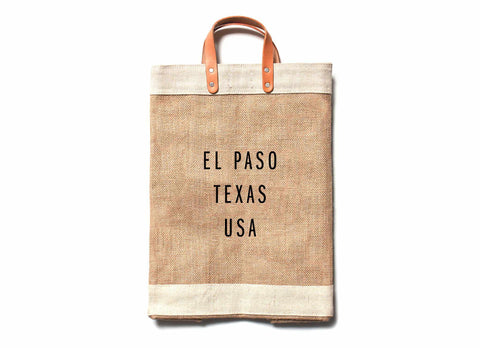 El Paso City Series Market Bag