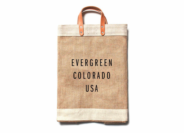 Evergreen City Series Market Bag