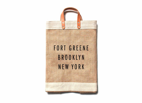 Fort Greene City Series Market Bag