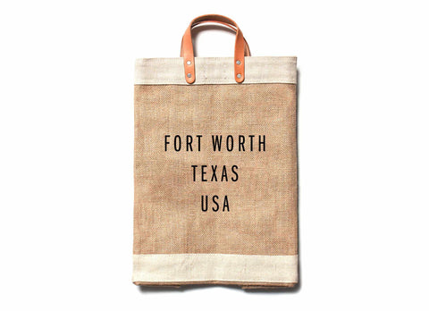 Fort Worth City Series Market Bag
