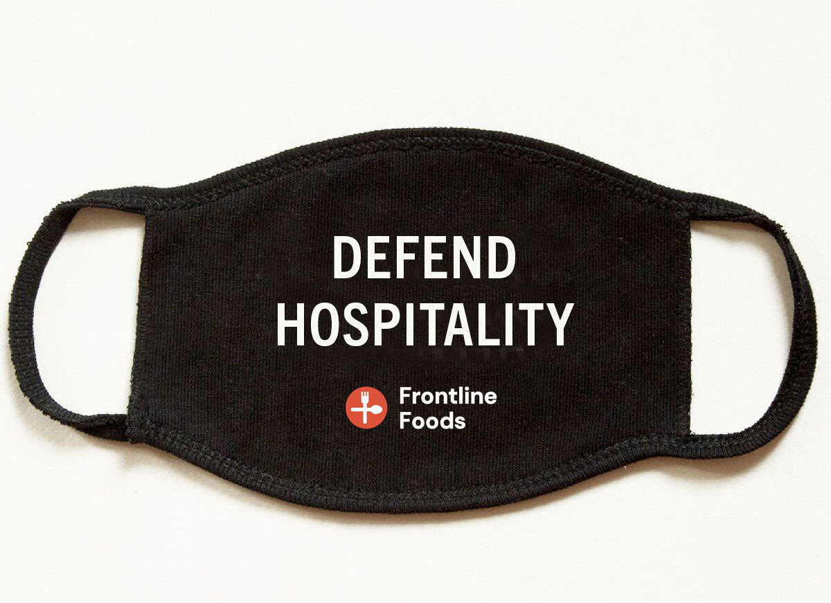 Customize Your Non-Medical Adult Face Mask for Frontline Foods®