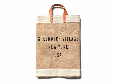 Greenwich Village City Series Market Bag