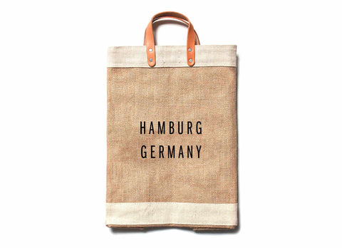 Hamburg City Series Market Bag