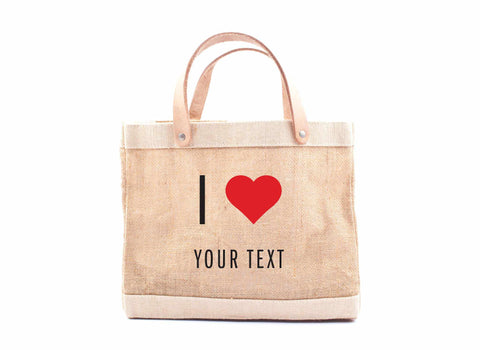 "Customize Your ""I Heart"" Petite Bag"