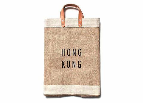 Hong Kong City Series Market Bag