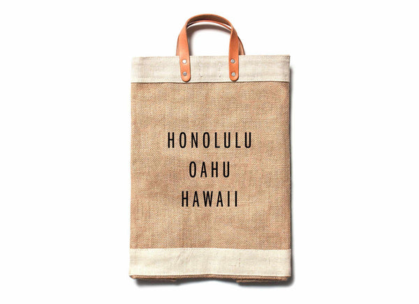 Honolulu City Series Market Bag