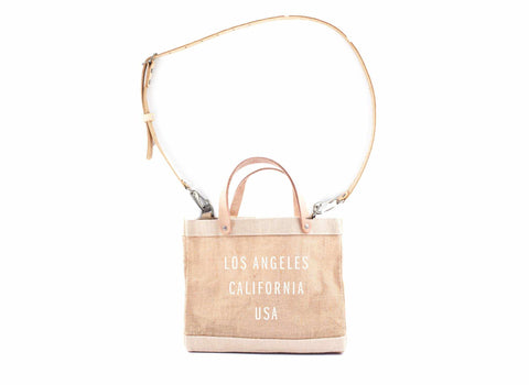 Los Angeles Detachable Handle Petite Bag