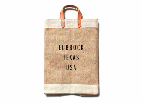 Lubbock City Series Market Bag