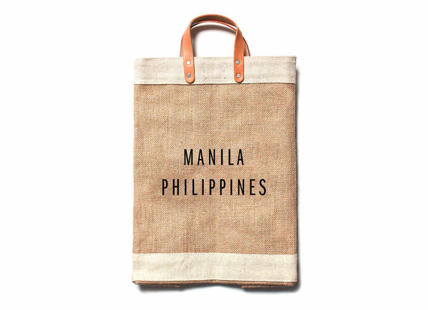 Manila City Series Market Bag